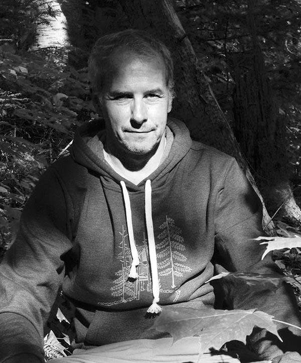 portrait noir et blanc de bruno colombari